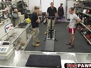 This guy went to pawn his training gear