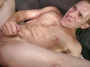 Excited stud is being tempted to have homo fuck