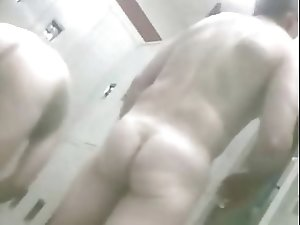 daddy gets horny in the shower